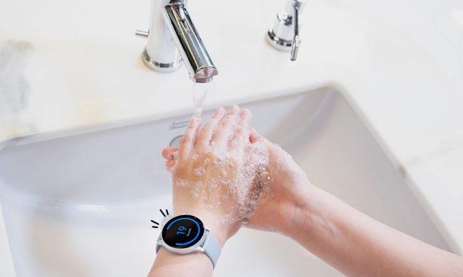 Galaxy Watch Hand Wash