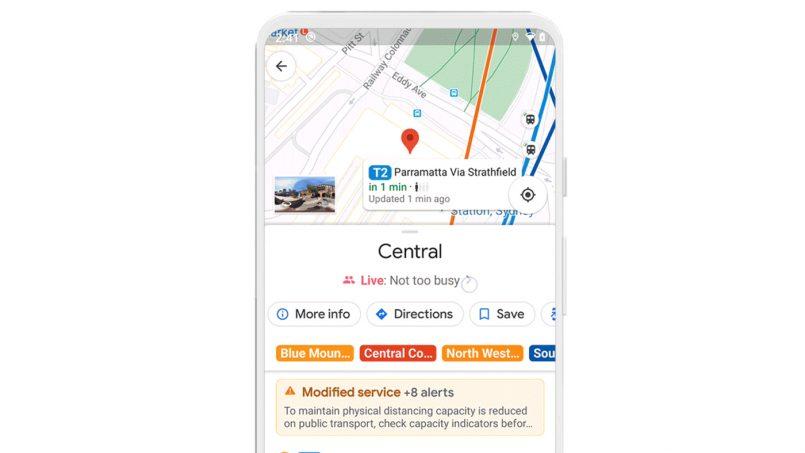 Google Maps Mula Memaparkan Notifikasi Halangan Dan Keperluan Perjalanan Berkaitan Covid-19