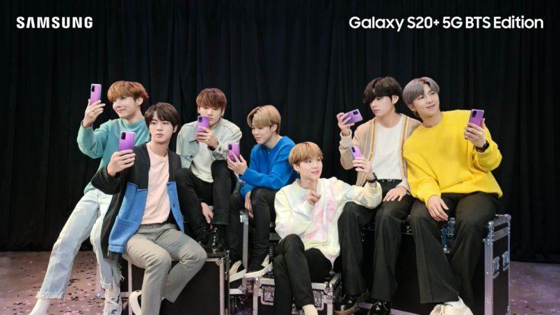 Galaxy S20 BTS
