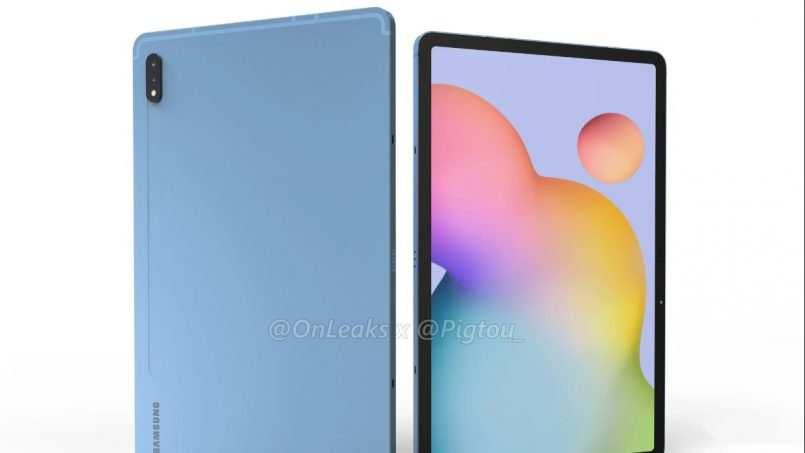 Samsung Galaxy Tab S7 Dan S7+ Mungkin Sokong Paparan 120Hz