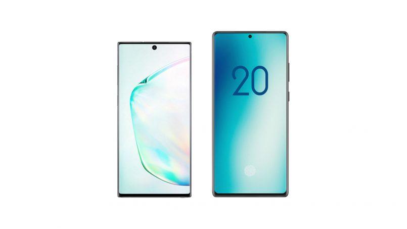 Imej Pengolokan Galaxy Note 20 Tertitiris – Skrin Rata, Lebih Panjang Dari Note 10 & 1080 60Hz
