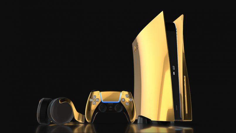 Sony PlayStation 5 Edisi Emas 24K Ditawarkan Kepada Yang Berminat