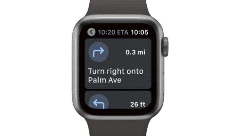 Aplikasi Google Maps Kembali Ke Apple Watch