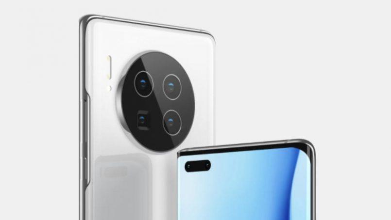 Gambar Sebenar Modul Kamera Huawei Mate 40 Dan Mate 40 Pro Tertiris