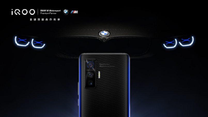Rekaan iQOO 5 Edisi BMW Diperlihatkan Dengan Panel Gentian Karbon