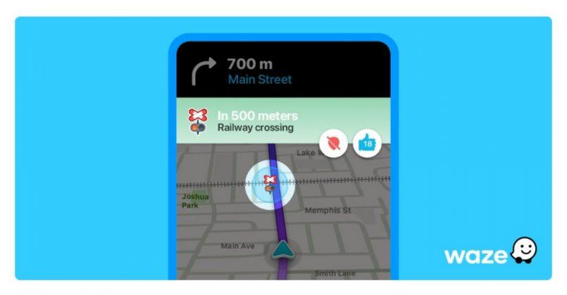 Aplikasi Waze Kini Hadir Dengan Ciri Amaran Landasan Kereta Api