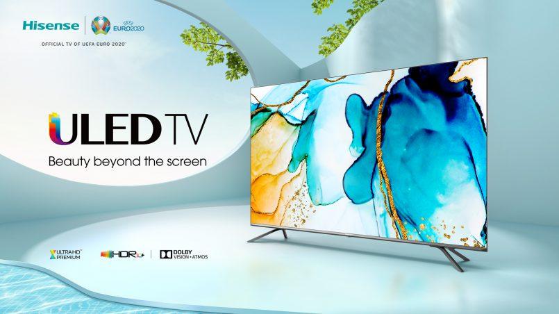 Televisyen Pintar Hisense 4K ULED U800QF Kini Rasmi – Android TV Berharga RM4999