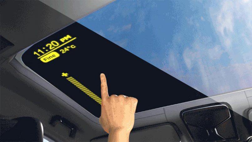BOE Memperlihatkan Teknologi Cermin Kereta Yang Kegelapannya Boleh Dilaras