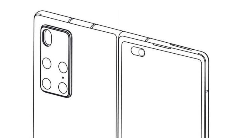 Huawei Mempatenkan Rekaan Peranti Skrin Boleh-Lipat Seakan Galaxy Fold2
