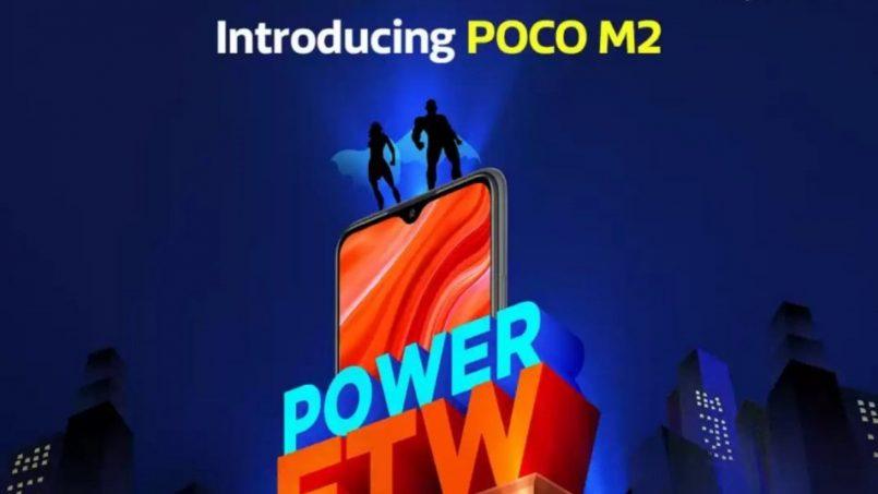 Poco M2 Disahkan Hadir Dengan Kuad Kamera Utama Dan Bateri 5000mAh