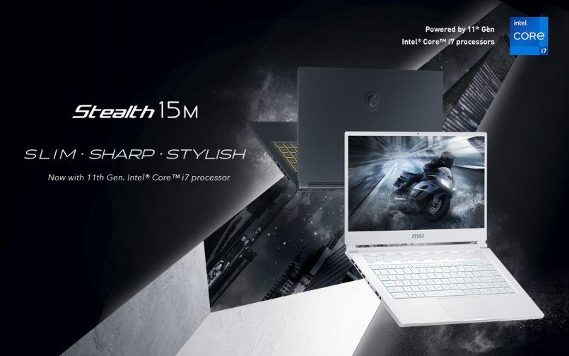 MSI Stealth 15M Ialah Komputer Riba Gaming Nipis Dan Ringan Yang Dikuasakan Siri CPU Intel Generasi Ke-11