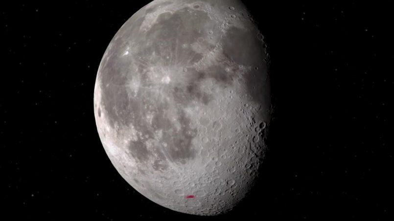 NASA Mengesahkan Penemuan Air Pada Permukaan Bulan Terang Buat Pertama Kali
