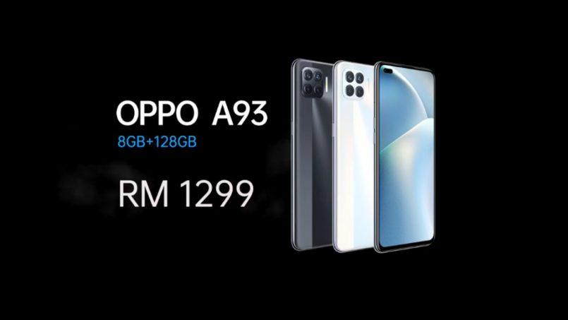 Oppo A93 Berharga RM1,299 Di Malaysia – Pra Tempah Awal Dapat Hadiah Bernilai RM199