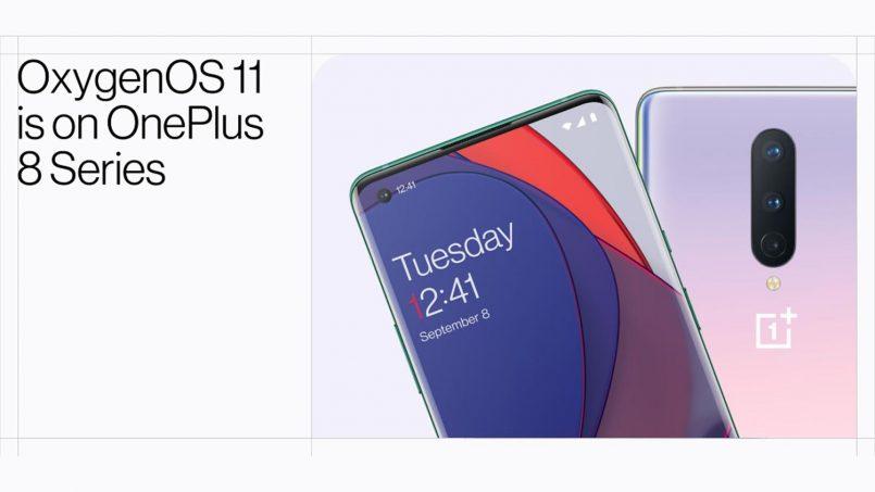 OnePlus 8 Dan 8 Pro Mula Menerima Kemaskini Android 11