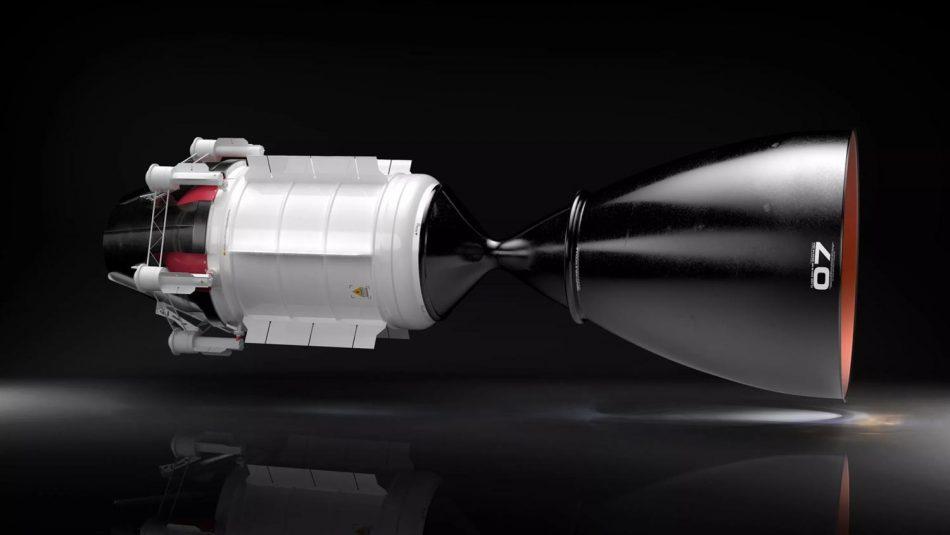Enjin Roket Nuklear HALEU