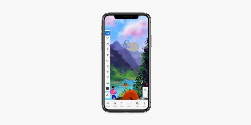 Adobe Fresco Kini Ditawarkan Untuk iPhone – Turut Dikemaskini Dengan Smudge & Time-Lapse