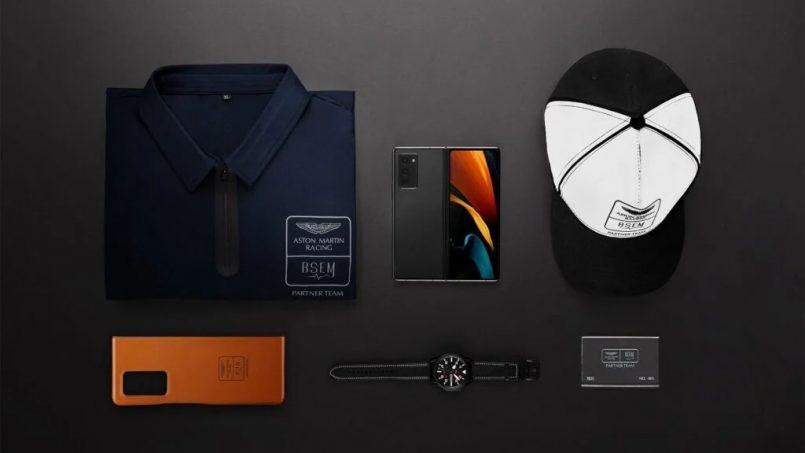 Samsung Galaxy Z Fold2 Edisi Khas Aston Martin Dilancarkan Di China