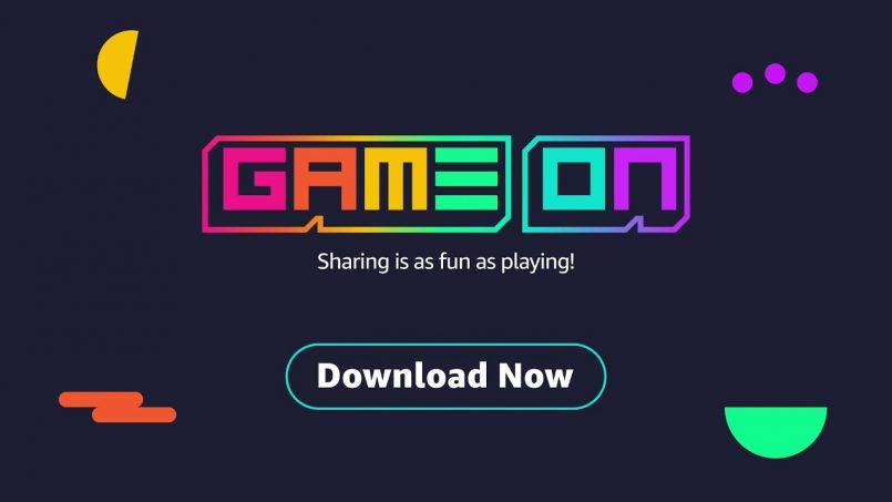 Amazon Hadir Dengan GameOn – Aplikasi Untuk Kongsi Klip Dari Permua