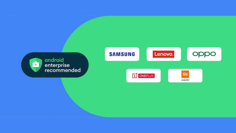 Beberapa Peranti Samsung Kini Menyertai Program Android Enterprise Recommended