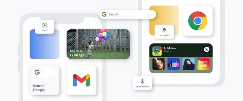 Google Menguji Widget Chrome Baharu Dengan Rekaan Mirip Widget Pada iOS 14