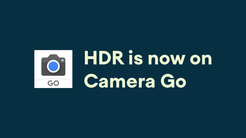 Aplikasi Kamera Google Camera Go Kini Menerima Sokongan HDR
