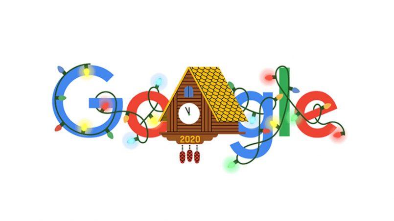 Google Doodle Untuk Ambang 2021 Dihasilkan Lengkap Dengan Animasi Konfeti