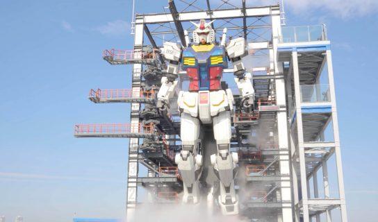 Robot Gundam Pada Skala Saiz Sebenar Diperkenalkan Di Jepun