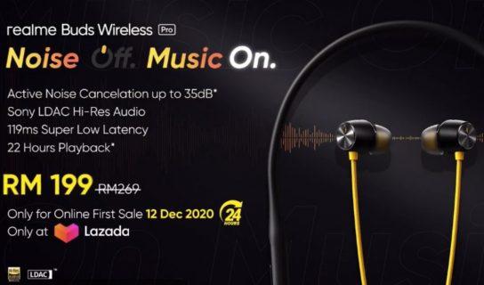 Realme Buds Air Pro Dan Buds Wireless Pro Kini Di Malaysia – Harga Bermula RM269