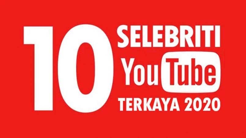 Senarai 10 Selebriti YouTube Terkaya 2020 Forbes Diumumkan – Ryan ToysReview Kekal Terkaya Pendapatan Hampir RM120 Juta