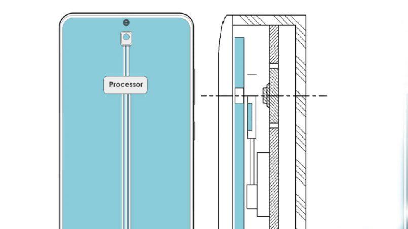 Samsung Mempatenkan Skrin Bawah Skrin Untuk Menyorokkan Kamera Bawah Skrin