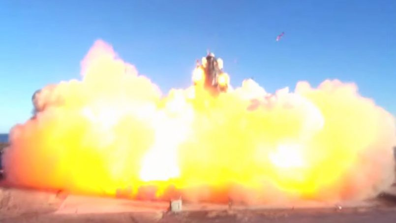 Kapal Angkasa SpaceX Starship Meletup Ketika Percubaan Mendarat