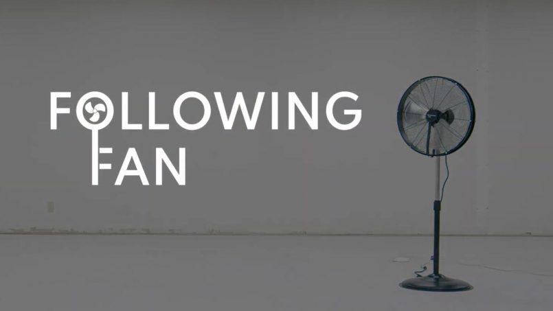 Following Fan Mengikut Pergerakan Anda Secara Automatik Untuk Sentiasa Sejuk
