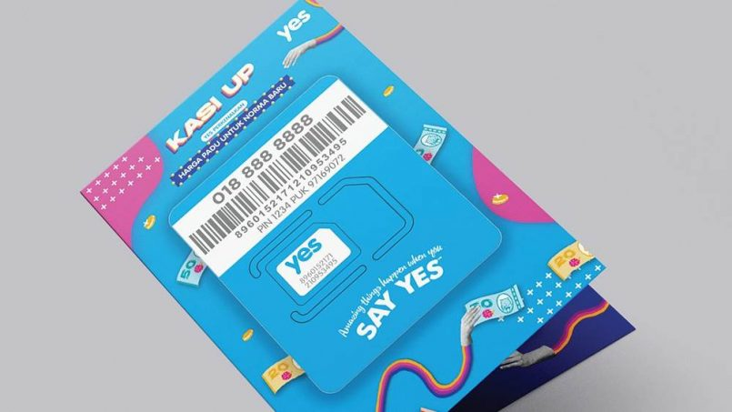 Yes Menawarkan Kad SIM Prabayar RM1 Melalui Shopee – 10GB Data LTE, Penghantaran Percuma