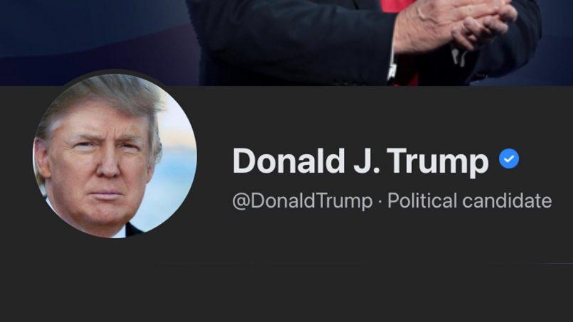 Donald Trump Kini Digantung Dari Platform Facebook Sehingga 2023
