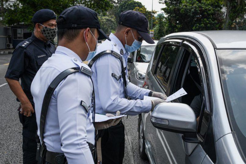 PDRM Roadblock PKP