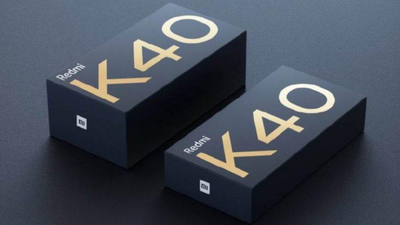 Redmi K40 Kotak