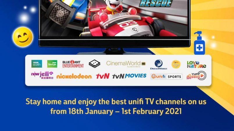Unifi TV Percuma