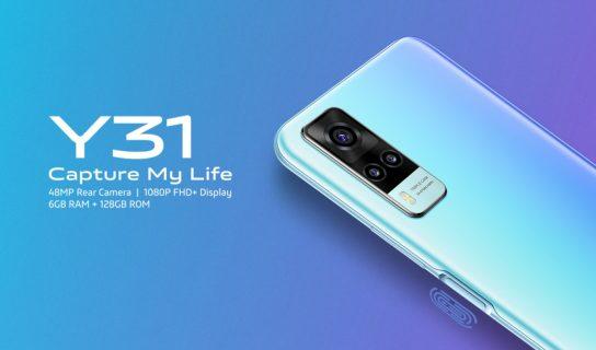 Vivo Y31 Hadir Dengan Cip Snapdragon 662, Kamera Utama 48MP