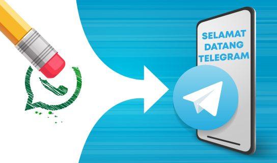 Bagaimana Pindahkan Mesej Dari WhatsApp Ke Telegram?