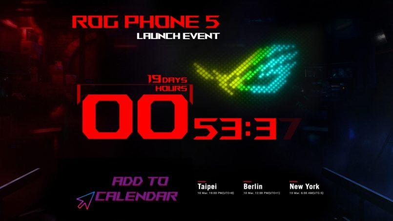 Asus ROG Phone 5 Akan Dilancarkan Secara Rasmi Pada 10 Mac 2021