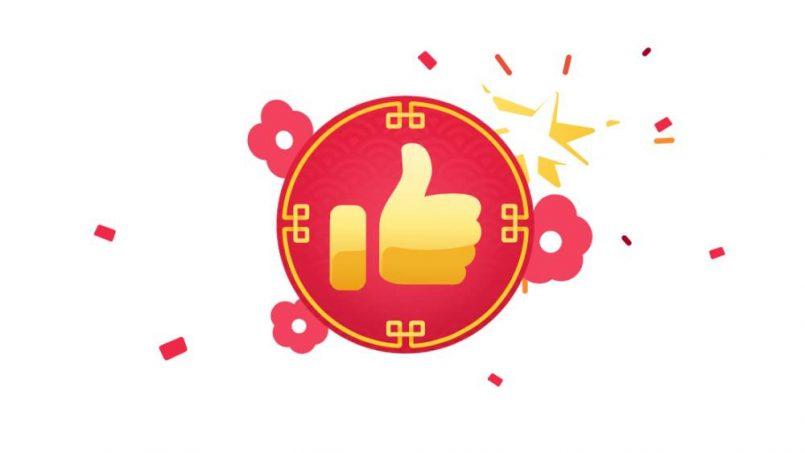 Facebook Hadir Dengan Penawaran Butang Reaksi Bertemakan Tahun Baru Cina