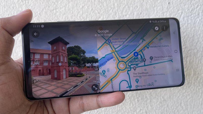 Google Maps Kini Menyokong Paparan Peta Dan Street View Serentak Menerusi Split-View