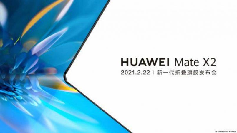Huawei Mate X2 Bakal Dilancarkan Secara Rasmi Pada 22 Februari 2021