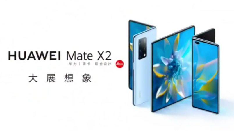 Huawei Mate X2 Kini Rasmi – Skrin 8″ Boleh-Lipat, Zum 100X Dan Harga Mencecah RM 11,000