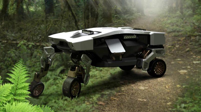 Hyundai TIGER Ialah Robot Tahan Lasak Untuk Penggunaan Di Kawasan Tidak Berturap