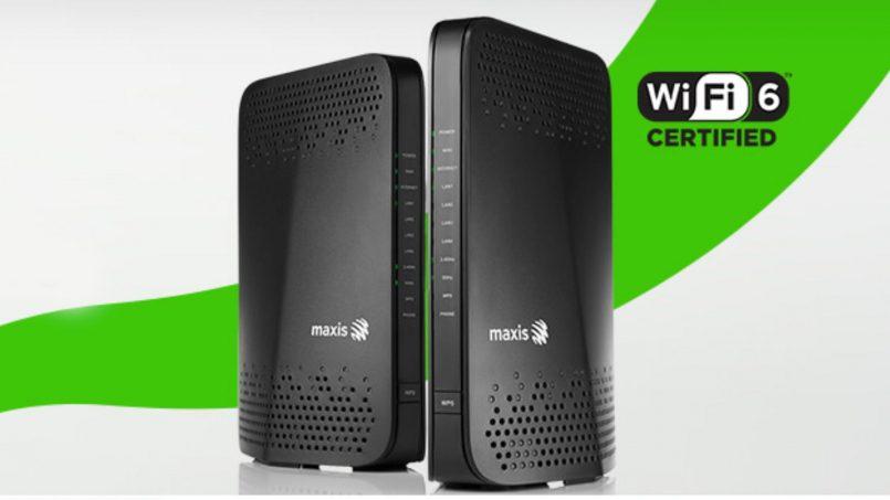 Maxis Fibre Kini Menawarkan Penghala Baharu Yang Menyokong WiFi6