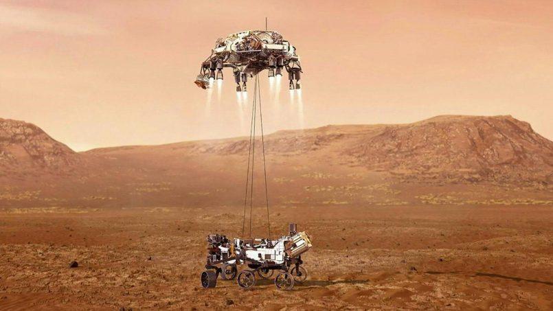 NASA Berjaya Mendaratkan Perayau Perseverance Di Permukaan Marikh