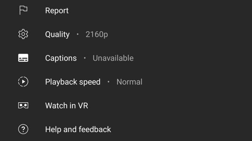 YouTube Kini Membenarkan Penstriman 4K Pada Semua Peranti Android