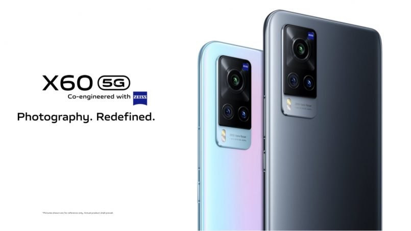 Vivo X60 Dan X60 Pro Kini Rasmi – Cip Snapdragon 870, Skrin AMOLED 120Hz Dan Harga Bermula RM2699