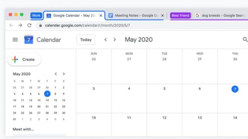 Ciri Tab Berkumpulan Di Chrome Desktop Kini Diaktifkan Kepada Semua